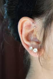 diamond helix stud best of helix diamond earrings jewellry s website