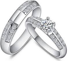 engagement rings for couples silver rings for men and women don shopping