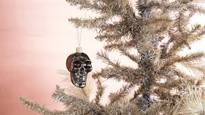 smiley skull tree decoration domayne