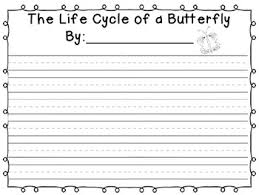 cycle of a butterfly four square writing by miss hadsell