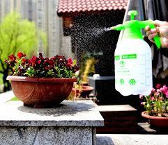 amazon com planted perfect hand pump garden sprayer handheld