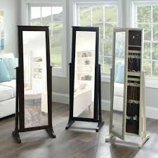 full length mirror with led lights mirrored jewelry armoire white cabinet canada full length mirror