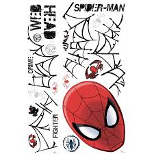 ultimate spider man head giant wall decal wall2wall