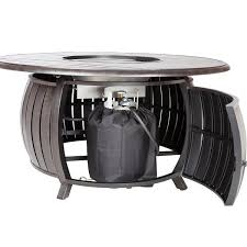propane fire pit canada grand cooper extruded aluminum round lpg fire pit