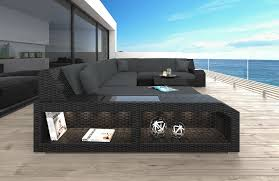 wicker patio sofa houston l with led