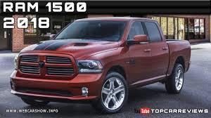 Dodge Ram Specs - 2018 ram 1500 review rendered price specs release date youtube