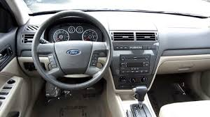 2007 ford fusion se 2007 ford fusion v6 se black stock l153388 interior
