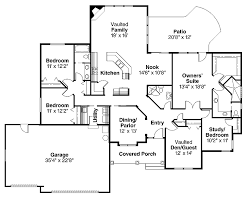 5 bedroom 4 bathroom house plans floor plans aflfpw00531 1 bungalow home with 4 bedrooms 3