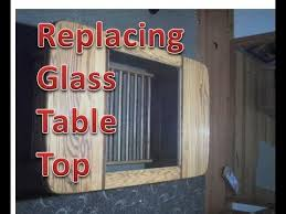 cheap glass table top replacement fitting replacement glass table top youtube