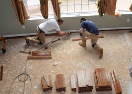 How To Lay Hardwood Laminate Flooring - how to install hardwood flooring prepping a wood subfloor