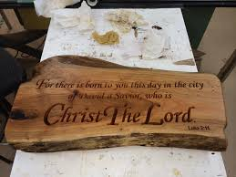 bible verse gifts cherry slab engraved with a bible verse this was a christmas gift