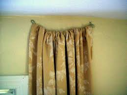 Curtains Without Rods Hanging Curtains Sew Many Ways Hiding Rental Apartment Vertical