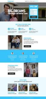 free online home page design landing page design and web blog for inspiration 20 best home loan