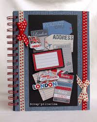 Couverture Album Photo Scrapbooking Scrap U0027ptiterima Mini Album Photo Et Carte Londres