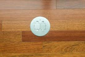 Hardwood Floor Outlet How To Install An Electical Outlet In A Wood Floor Home Guides