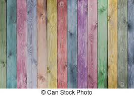 colorful pastel wood planks texture or background vintage