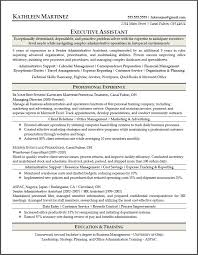 Sample Resume Of Executive Assistant by Sample Resumes Resume Results