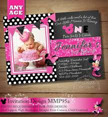 39 best black polka dot minnie mouse birthday invitations u0026 party