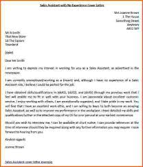 awesome collection of cover letter for with no experience in