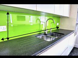 fourniture de cuisine crédence cuisine verre unique pose d une cr dence en verre 7 avec