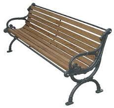 panchine legno panchina legno pino e ghisa con braccioli arredo esterno giardino
