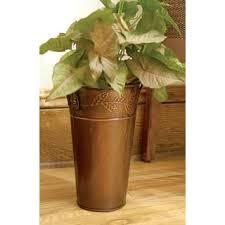 Copper Flower Vase Bronze Vases Shop The Best Deals For Nov 2017 Overstock Com