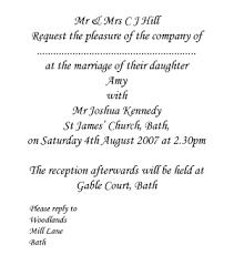 wedding invitations exles wedding invitation wording sles gangcraft net