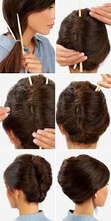 Hochsteckfrisurenen Glattes Haar by 1001 Ideen Wie Sie Effektvolle Hochsteckfrisuren Selber Machen