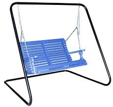 coated metal swing stand