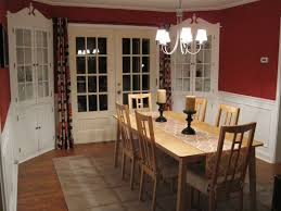 Classic Dining Room Furniture Captivating Classic Dining Room With Cedar Wood Table And Slat