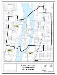 Aurora Illinois Map by Invest Aurora Maps
