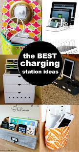 decorative charging station best 25 phone charging stations ideas on pinterest charging