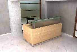 Funky Reception Desks Small Contemporary Desk Custom Reception Counter