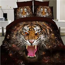 aliexpress com buy luxury 100 cotton 3d animal leopard