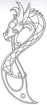 tribal style outline symbol tattoo designs photo 4 real photo