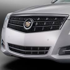 2013 ats cadillac 2014 ats black chrome grille surround with gloss black frame