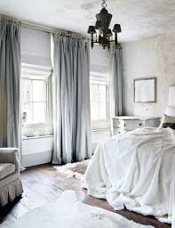 Curtains In The Bedroom Luxurious Bedroom With Pale Blue Velvet Curtains Home