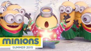 minions tree lighting ceremony hd illumination