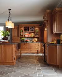 cabbott cherry macaroon kitchen by thomasville cabinetry
