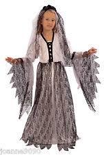 Dead Bride Halloween Costume Girls Corpse Bride Costume Ebay