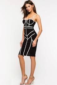 women u0027s party dresses piped cage bustier dress a u0027gaci