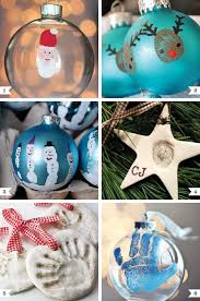 diy handprint and thumbprint ornaments ornament finger and craft