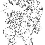 dragonball coloring pages kids free printable coloring