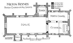 All Saints Church Floor Plans by Church Of All Saints