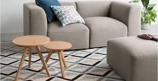 Juno  Seater Sofa With Footstool Manhattan Grey Madecom - Sofa and footstool