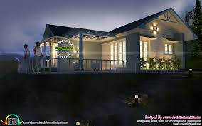 budget house in 750 square feet kerala home design and floor plans