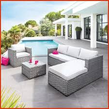 canape de jardin en resine tressee pas cher salon jardin tresse gris inspirational salon de jardin resine