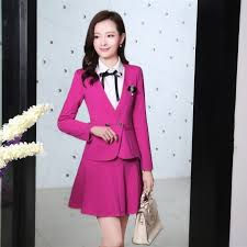 fashion design ladies suit knitted suit fabric fashion design women office style formal work
