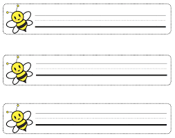 Desk Name Tags these cute easter labels can be used for desk plates name tags