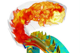 simulation chambre collaboration dans la simulation numérique cerfacs et turbomeca